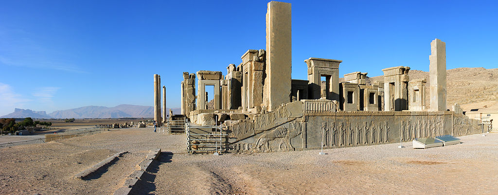Persepolis w Iranie. Fot. Hansueli Krapf. Creative Commons