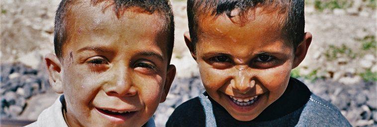 Syria – dziecięce portrety