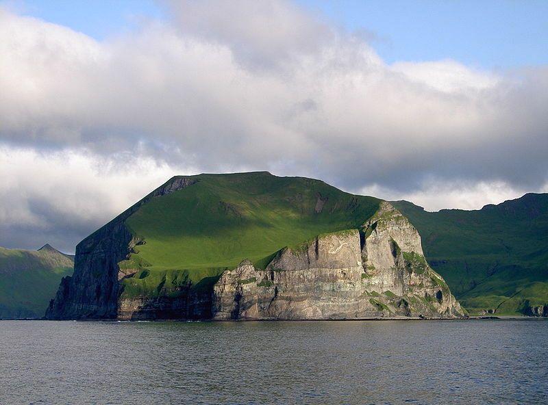 Przylądek Lutke, wyspa Unimak, Alaska. Creative Commons