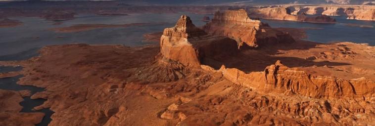 Petroglify z rejonu jeziora Powell [FILM]