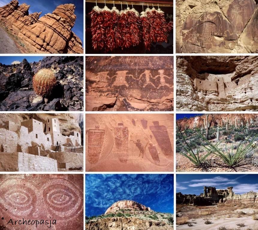 USA oczami archeologa