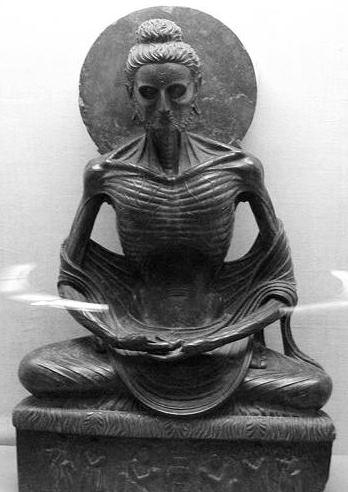 Poszczący Budda. Muzeum w Lahore, Pakistan. Fot. Patrik Germann. Creative Commons
