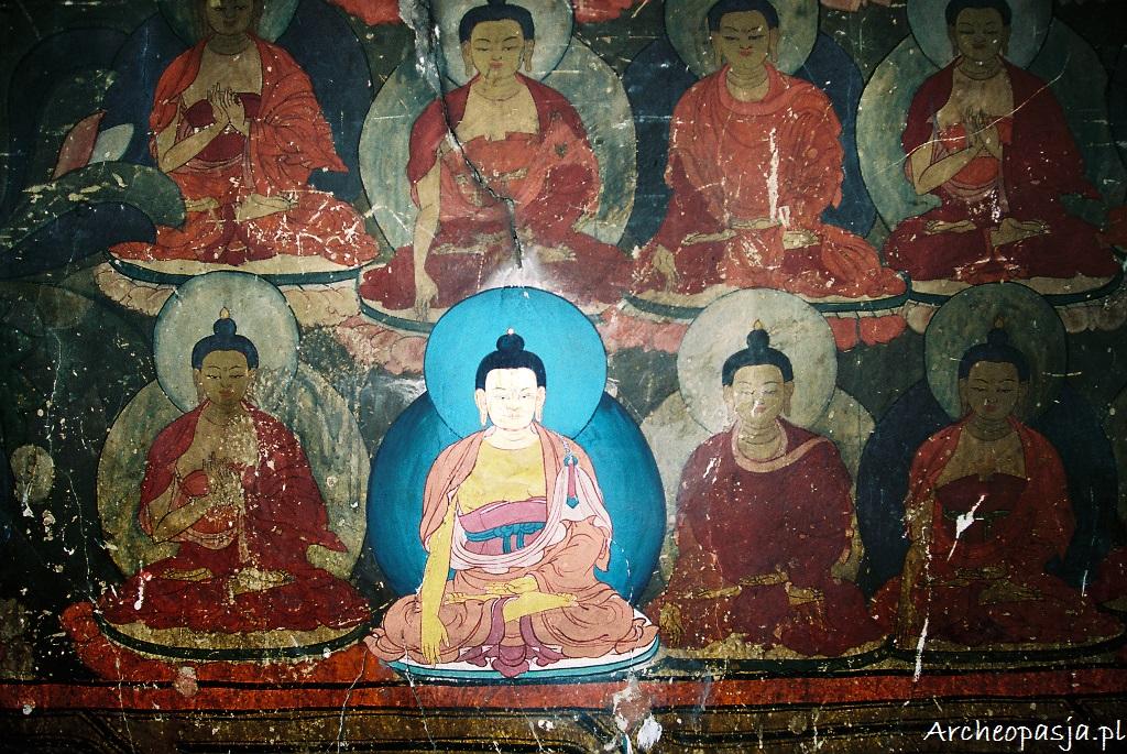Malowidła z gompy Chemre, Ladakh
