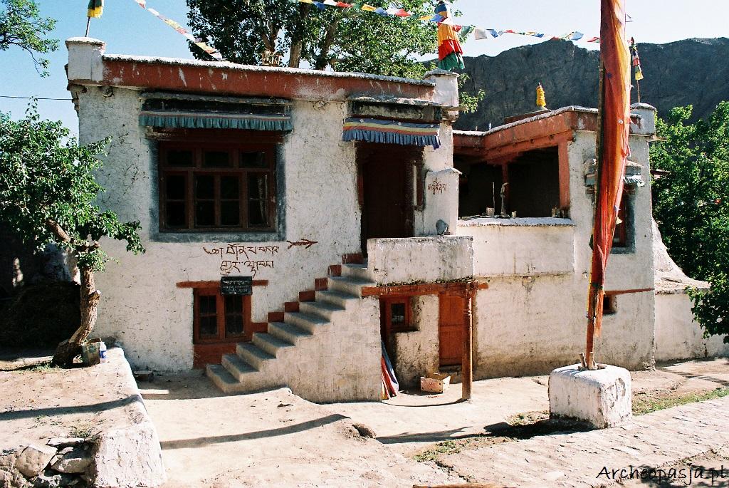 Zabudowania klasztorne w Alchi