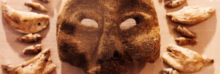 O kościanej masce z Aleutów