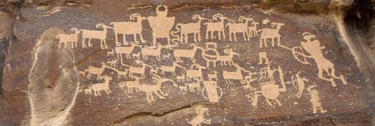 O archeologii w Nine Mile Canyon w Utah