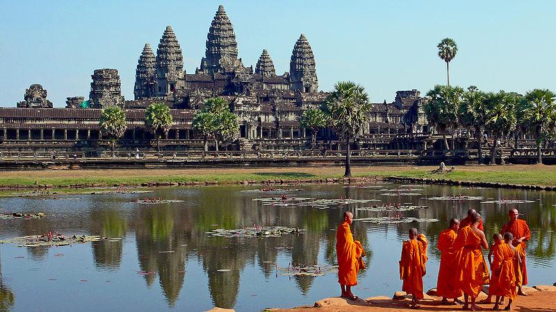 Angkor Wat. Fot. Sam Garza. Creative Commons