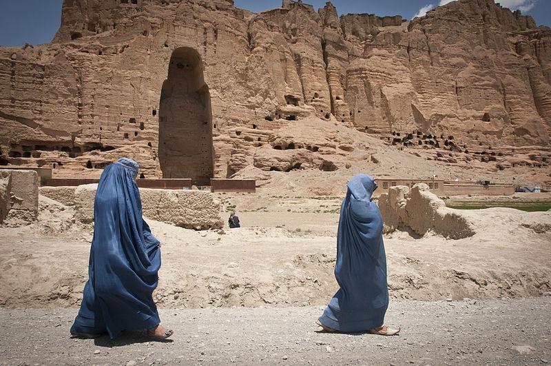 Bamjan w Afganistanie. Fot. DVIDSHUB. Creative Commons