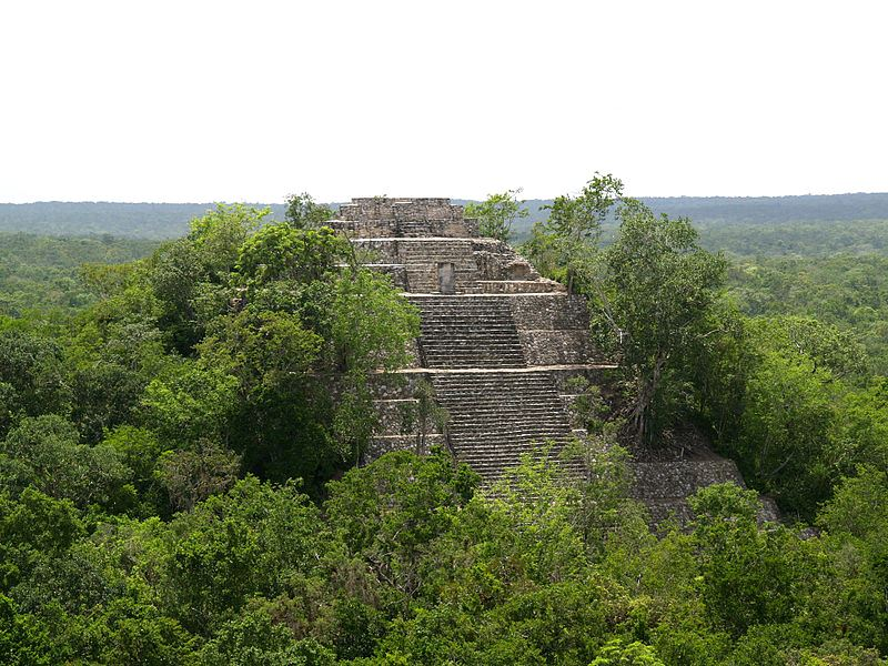 Calakmul. Fot. PhilippN. Creative Commons