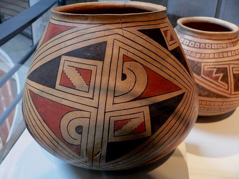 Ceramika z Casas Grandes. Fot. David Monniaux. Creative Commons