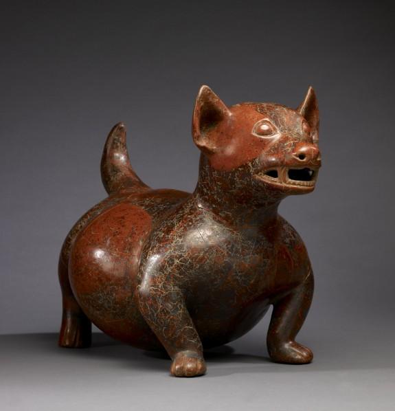 Figurka psa z Colimy ze zbiorów Walters Art Museum. Creative Commons