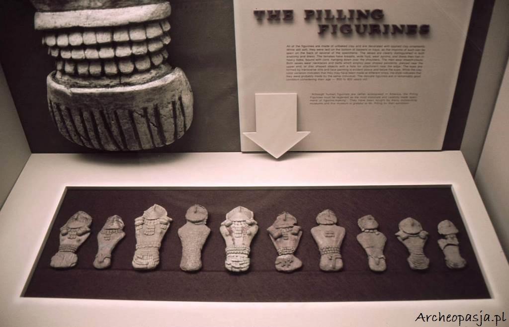 Figurki Pilling'a, odkryte w 1950 na terenie Range Creek w Utah.