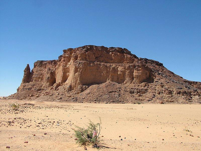 Jebel Barkal w Sudanie. Fot. LassiHU. Creative Commons