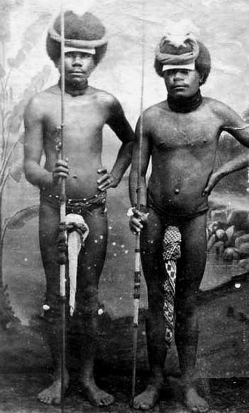 Kanakowie z Nowej Kaledonii