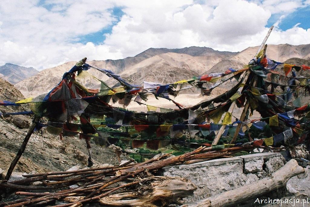 Flagi modlitewne w Ladakhu