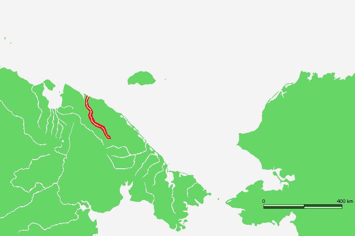 Lokalizacja rzeki Pegtymel. Creative Commons (domena publiczna)