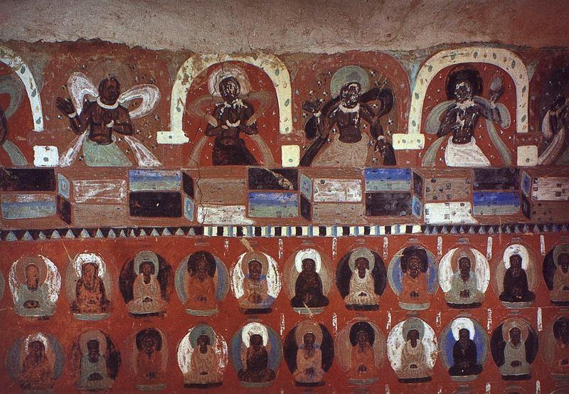 Malowidła z Dunhuang. Creative Commons (domena publiczna)