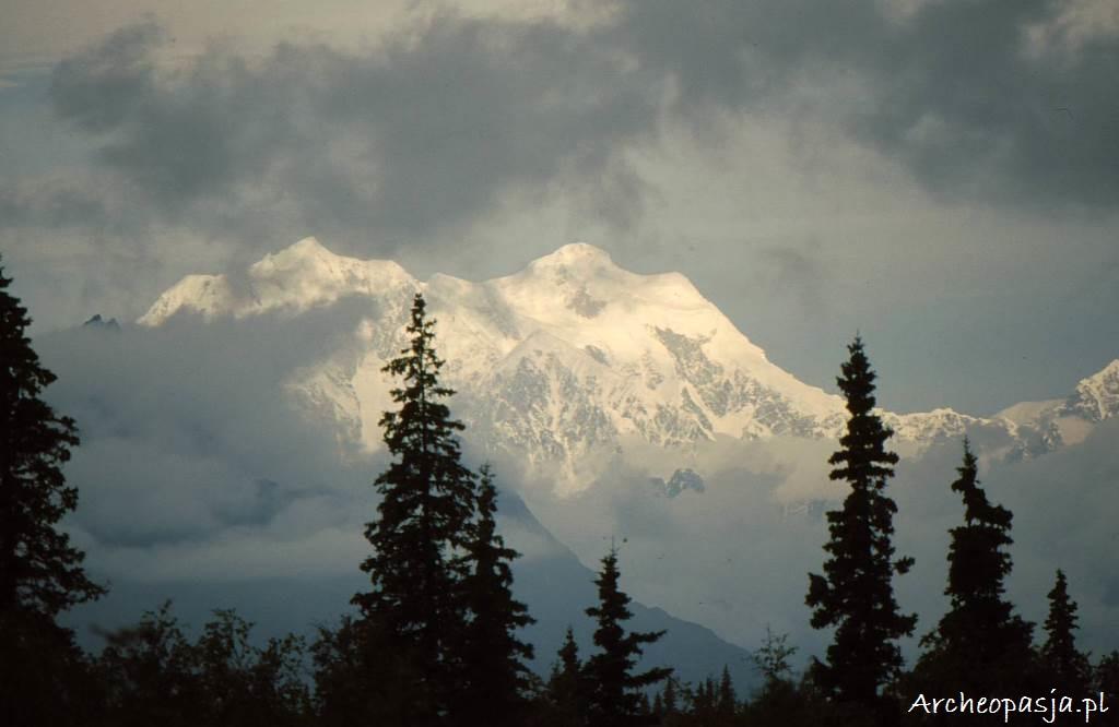Widok na Mt. McKinley