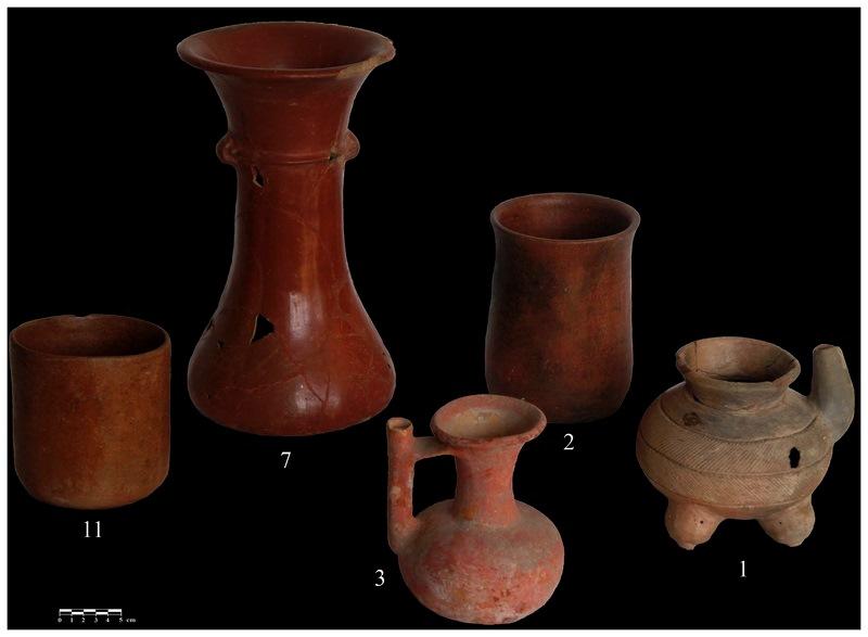 Naczynia z Chiapa de Corzo w południowym Meksyku ze śladami użycia chili (400 p.n.e - 300 n.e.) © Roberto Lopez, Emiliano Gallaga Murrieta (Wikimedia)