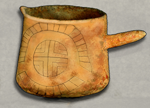 Rekonstrukcja kubka z Cahokii. Autor Heironymous Rowe. Creative Commons