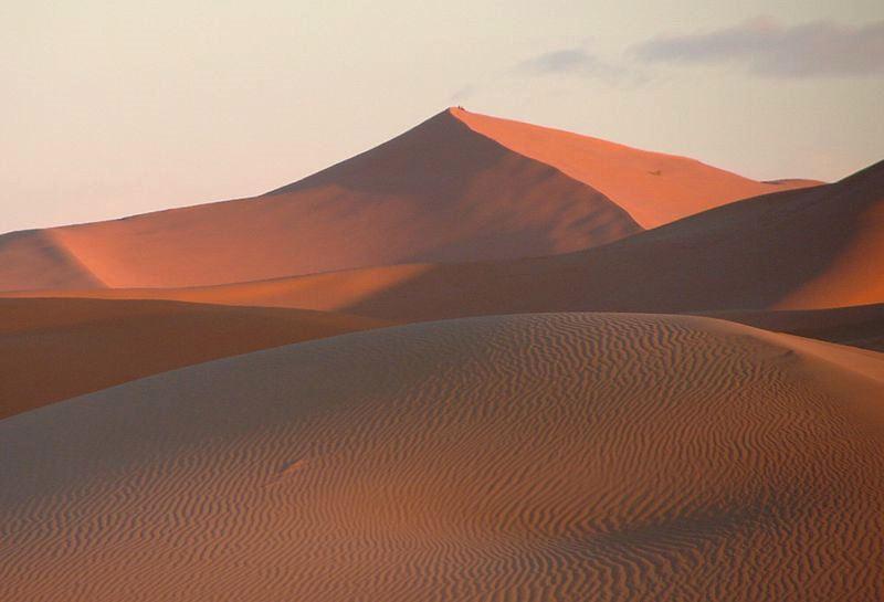 Sahara. Fot. Antony Stanley. Creative Commons