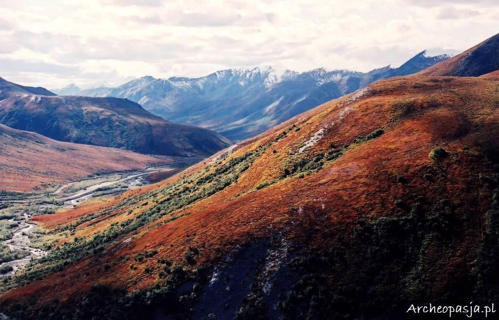 Góry Brooksa na północy Alaski