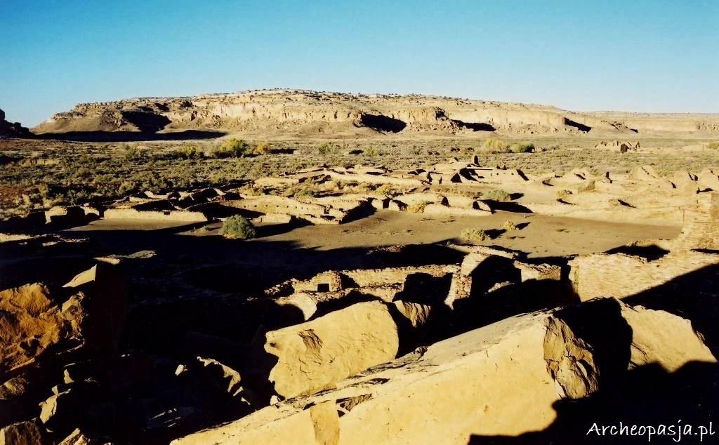 Kanion Chaco w Nowym Meksyku