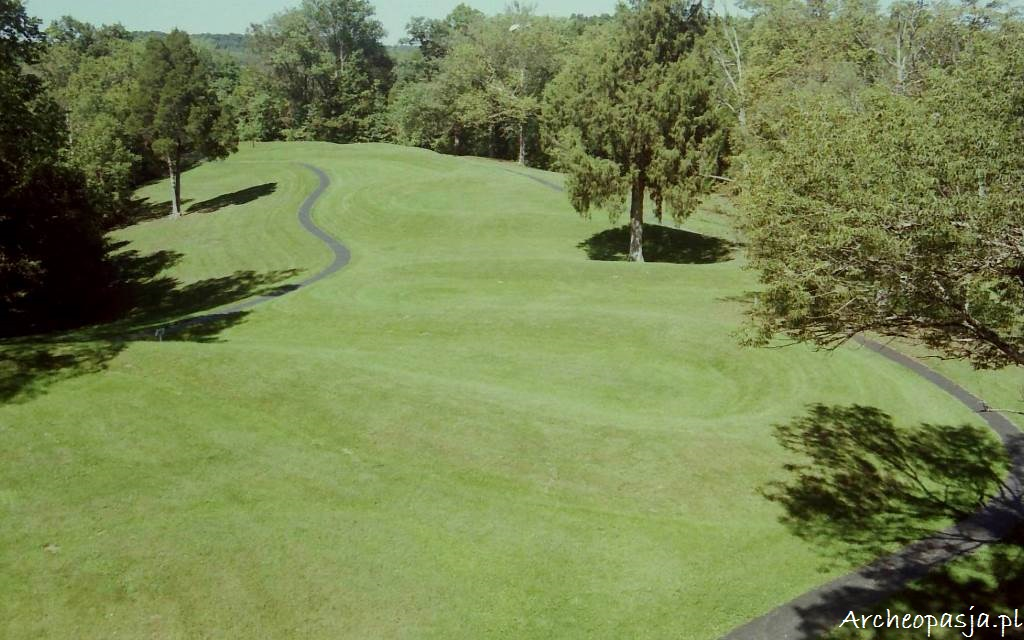 Kopiec Wężowy, Ohio