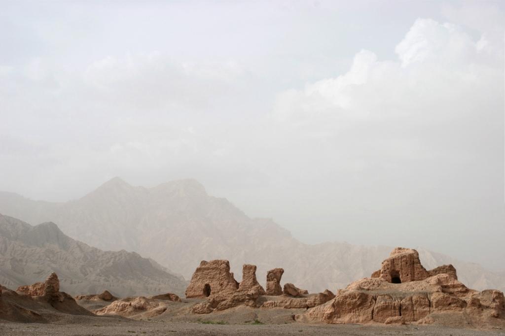 Ruiny starożytnego miasta Subashi w okolicach Kuczy. Fot. Ulrich Tümmmers. Creative Commons
