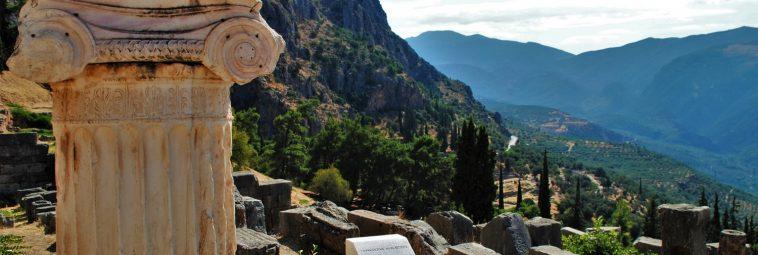 Z wizytą u Pytii, czyli zwiedzanie starożytnych Delf