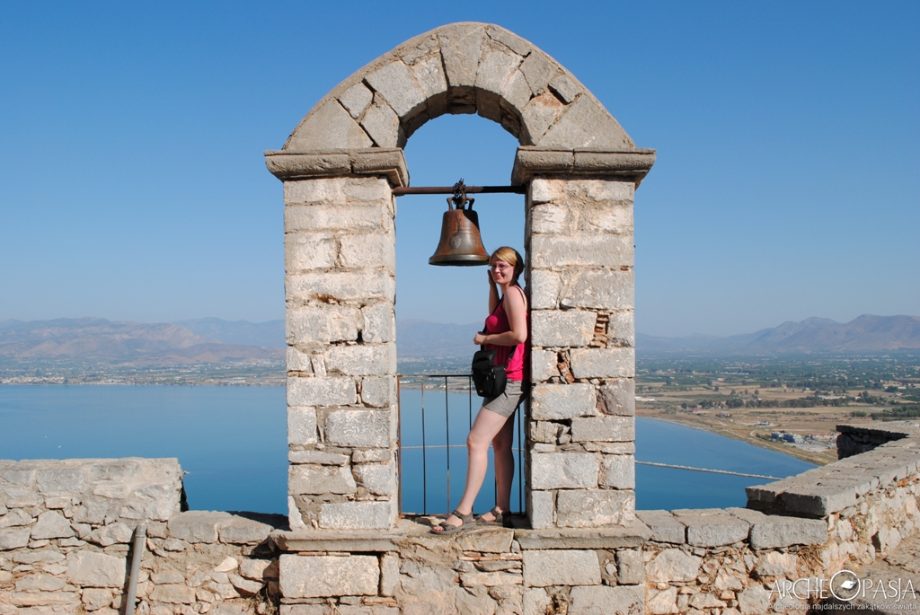 Grecki relaks. Forteca Palamidi, Nafplio