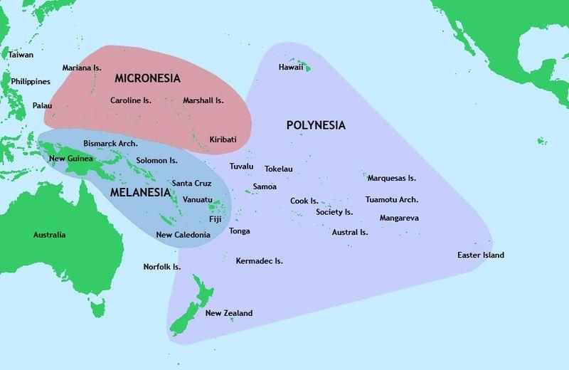 Wyspy Pacyfiku
