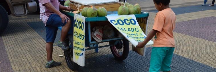 Kokosowe popołudnia na Minhocão