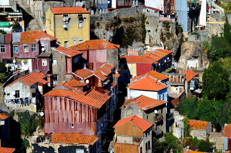 Zabudowania Ribeira do Porto