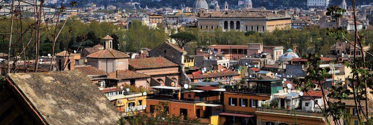 Punkty widokowe, z których zachwyciłam się panoramą Rzymu
