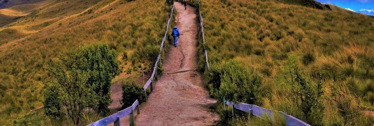 Ekwador – w drodze na wulkan Pichincha