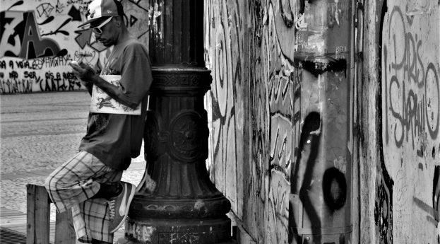 São Paulo na czarno-białych fotografiach