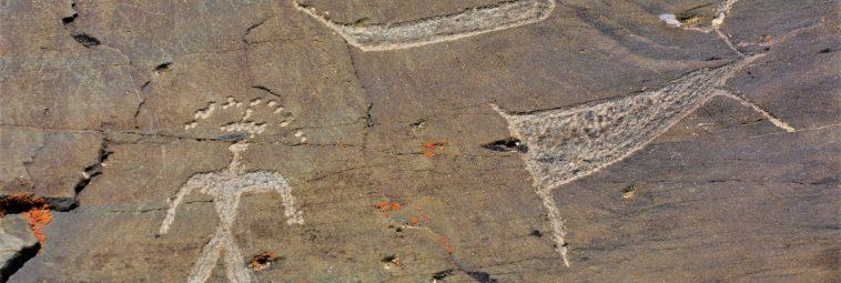 Petroglify z rejonu rzeki Pegtymel na Czukotce