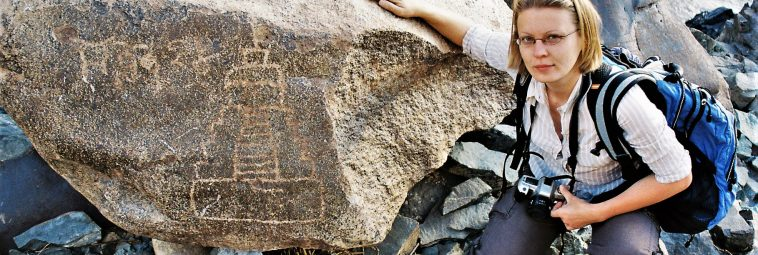 W poszukiwaniu petroglifów nad Indusem