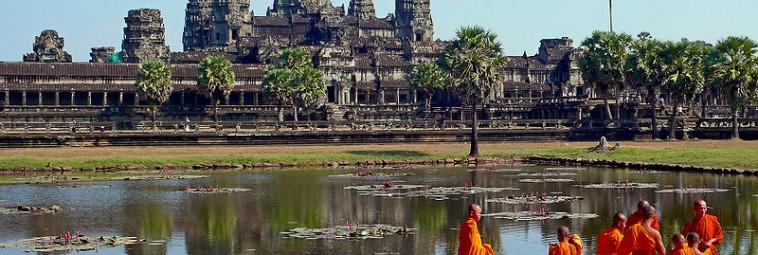 Kamienne posągi Buddy odkryto w Kambodży