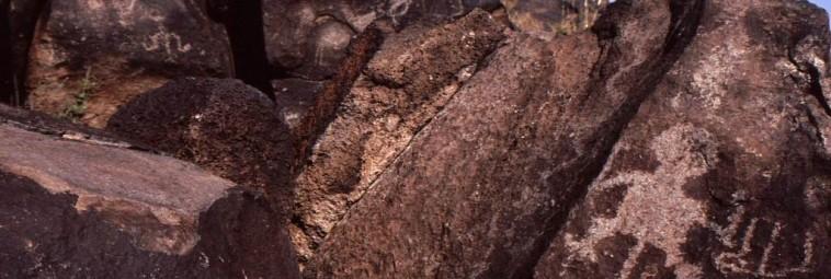 O petroglifach z okolic Albuquerque w Nowym Meksyku