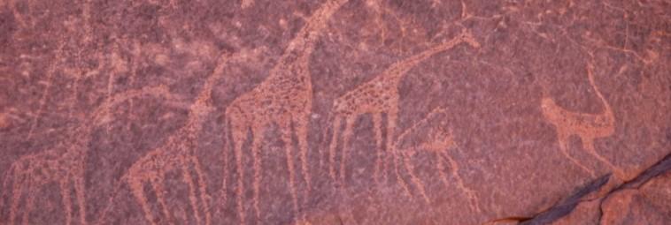 Petroglify z oazy Dachla w Egipcie – wystawa