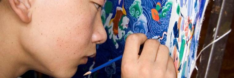 Wczesne malowidła z centralnego Tybetu