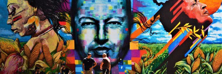 Wenezuela – street art w Caracas