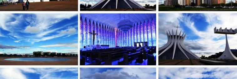Brasília: wszystkie odcienie błękitu