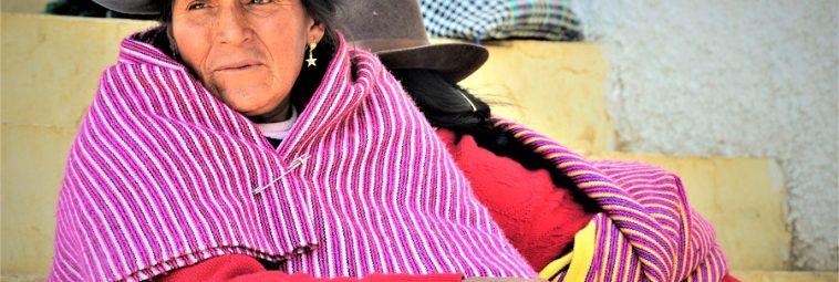 Rytuał haywakuy Indian Q'eros z Andów Peruwiańskich
