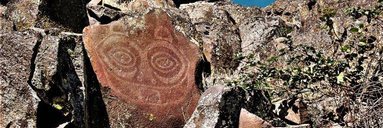 TSAGIGLALAL – motywy twarzy znad rzeki Kolumbii